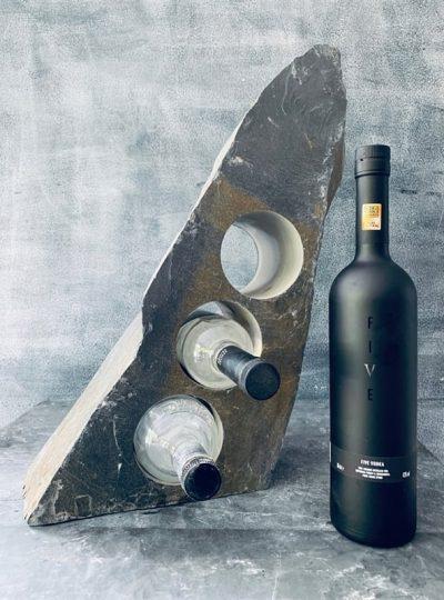Pure slate wine rack
