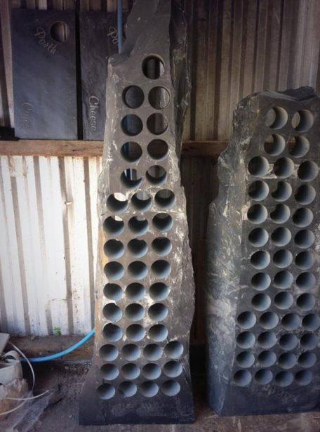 Mammoth slate wine rack