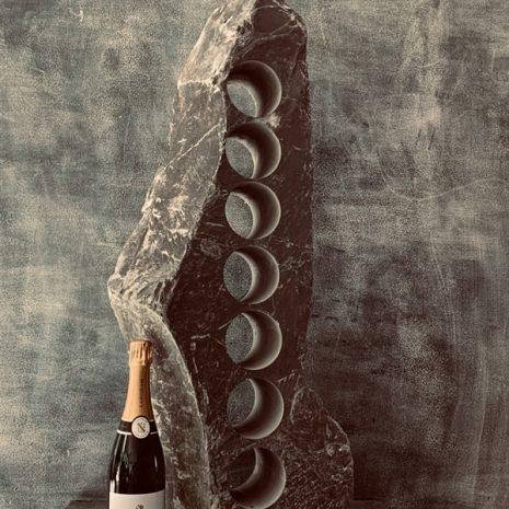 Premium slate wine rack