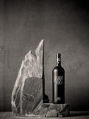 Ledge slate wine rack