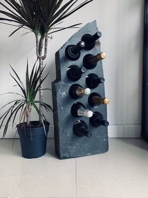 Slate Wine Rack 10SWR1