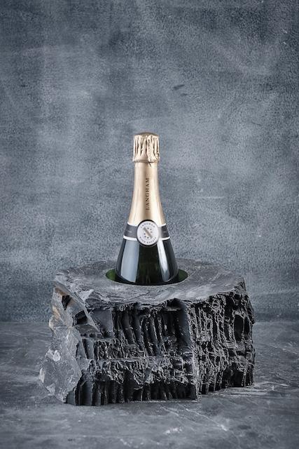 Slate champagne cooler