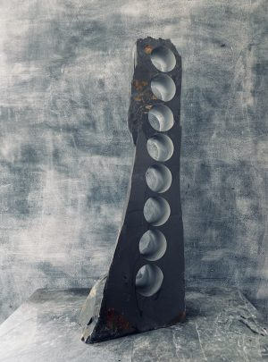 Vineyard slate wine rack