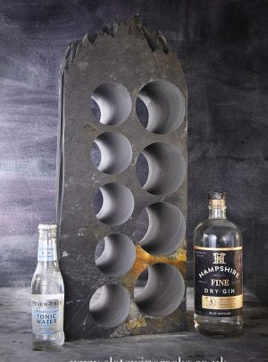 Welsh Slate Gin Rack