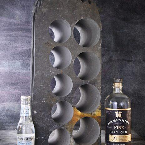 Welsh Slate Gin Rack