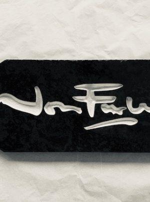 Jon Furley Slate House Sign