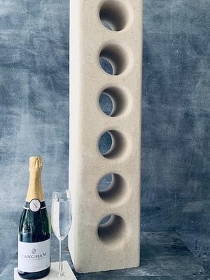 Worktop Stone Wine Rack