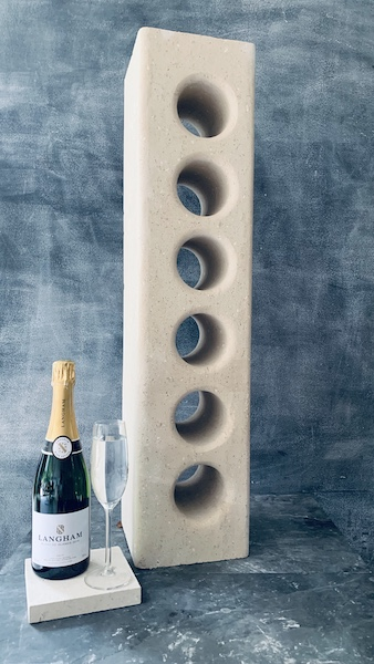 Worktop Stone Wine Rack