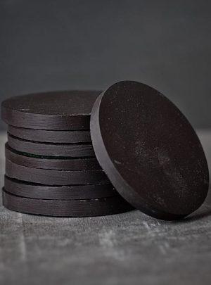 Round Slate Coasters Pack of 4 | Slate Wine Racks