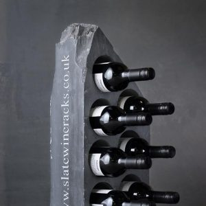 Engraved Slate Wine Rack