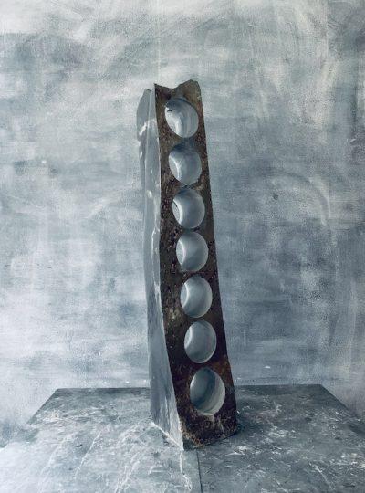 Stylish slate wine holder