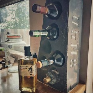 SWYD Slate Whisky Rack