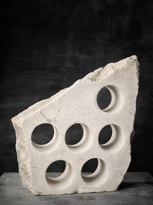 Natural Stone Wine Rack