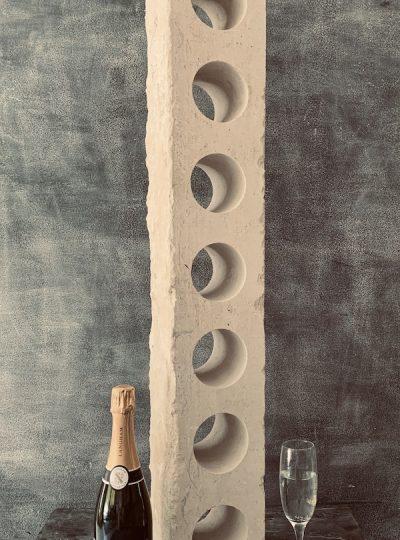 Portland Stone Champagne Rack