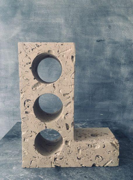 Portland Stone Ledge Rack