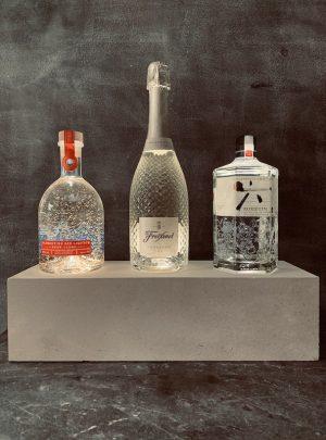 Portland Stone Gin Shelf PSGS1