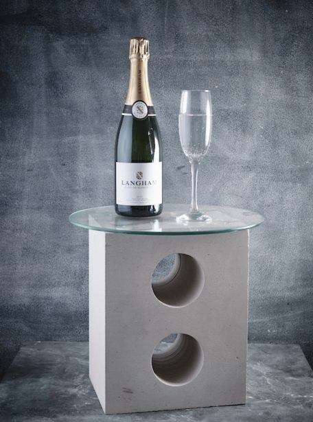 Portland Stone Wine Table