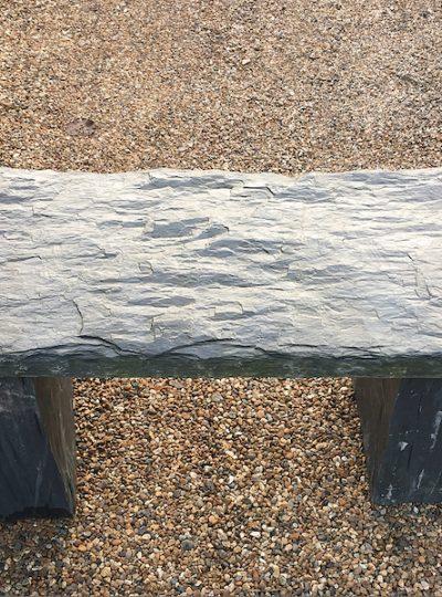 Slate Garden Bench