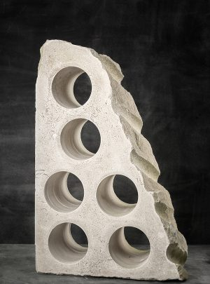 Portland Stone Wine Rack