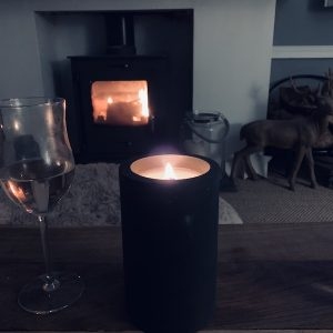 Slate Core Candle