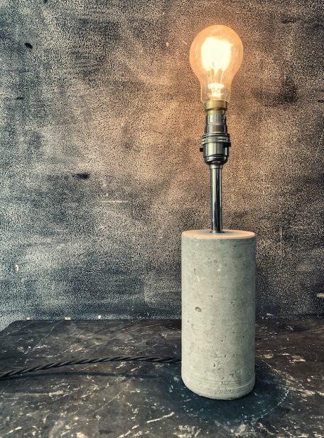 Portland Stone Table Lamp