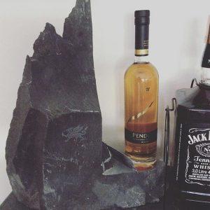 Slate Whisky Shelf Penderyn